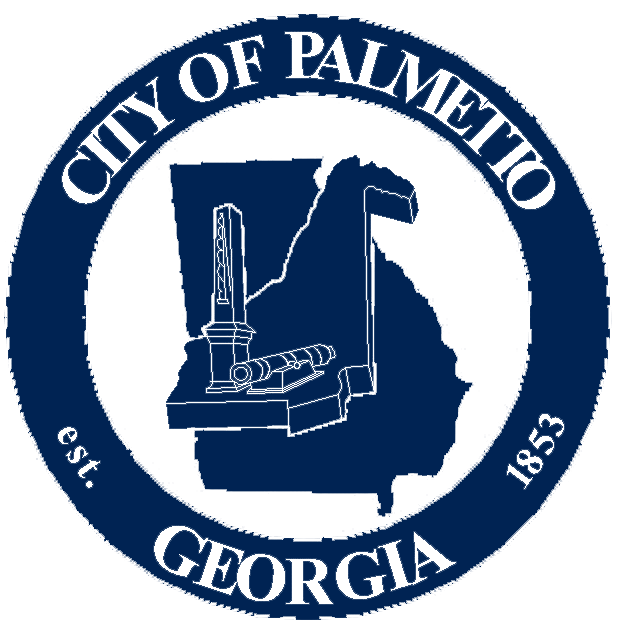 logo for the city of Palmetto