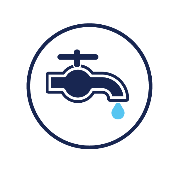 icon representing starting new water service