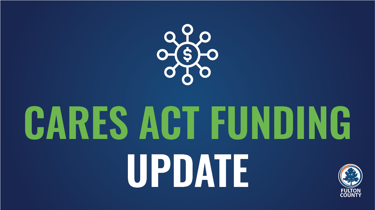 CARES Act funding update