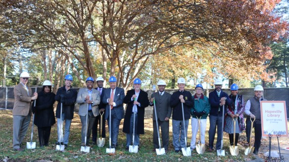 Photo of Groundbreaking Ceremony for new Hapeville Library