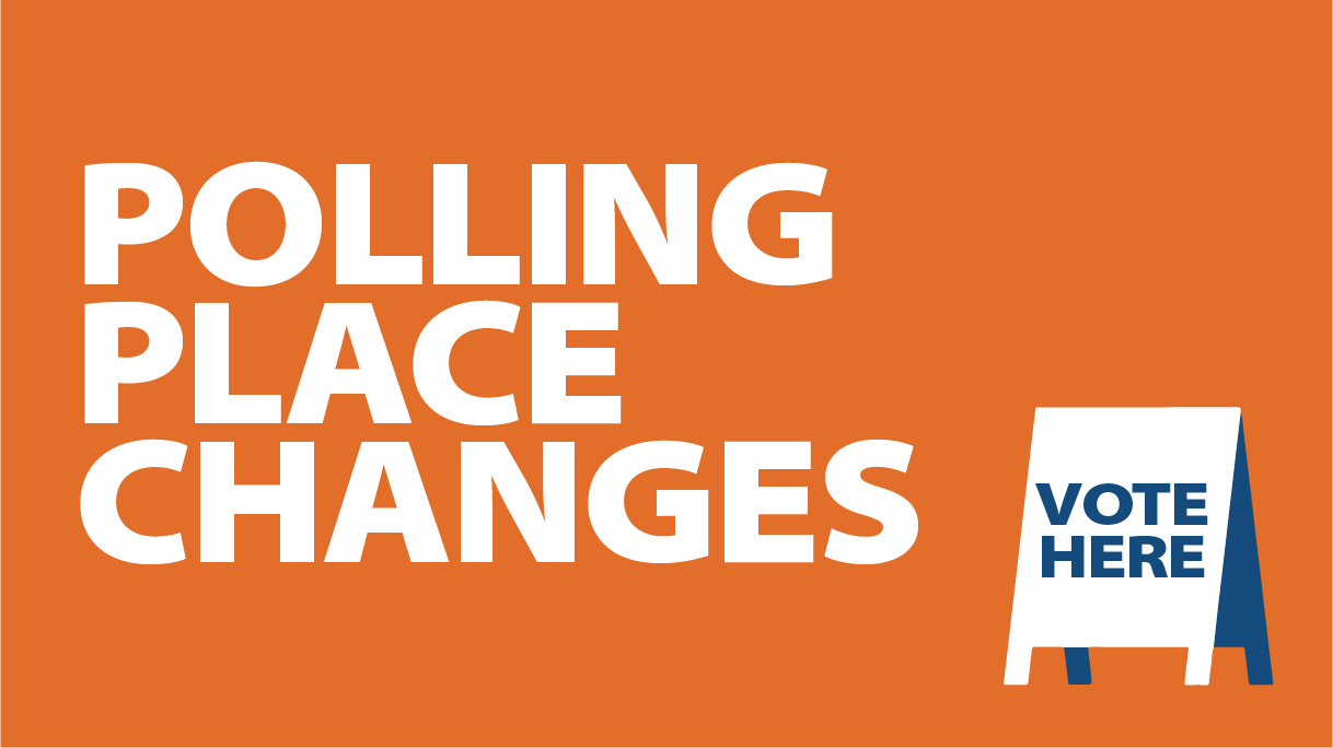 Polling place changes
